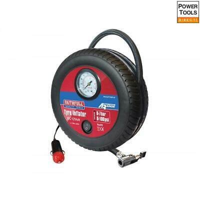Faithfull Low Volume Tyre Inflator 12V