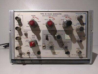 TEKTRONIX Type 115 Pulse Generator