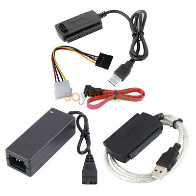 IDE SATA PATA to USB 2.0 Adapter Converter Cable for Hard Drive 2.5/3.5 Inch