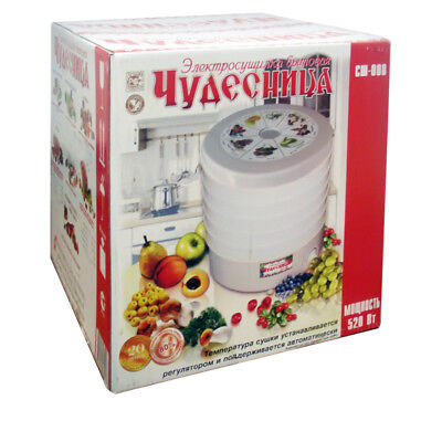 "Hq Fruit And Vegetable Dehydrator ""Miracle-Worker"""