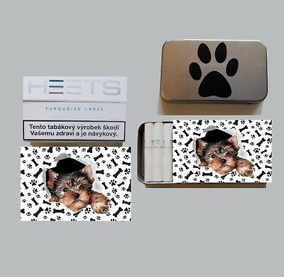 YORKSHIRE TERRIER Box für HEETS Sticks IQOS box for HEETS Metall