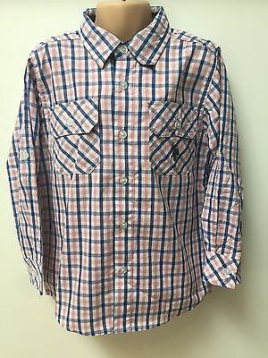 U.s Polo Assn Boys Kids Teens Checkered Tops/checked Shirts Ages 3 To 14 Years