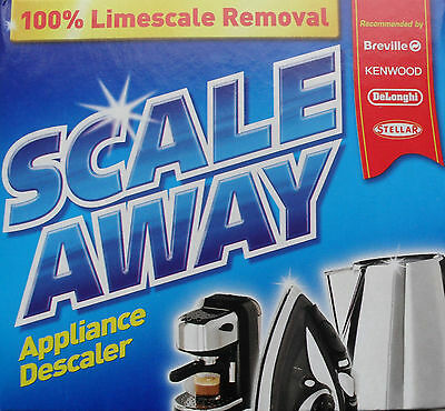 Scale Away all purpose limescale descaler kettle iron coffee machine cleaner