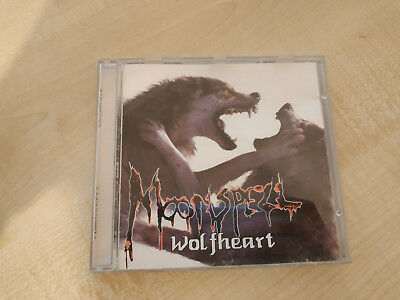 Moonspell Wolfheart Cd 1995 First Press Black Metal Death