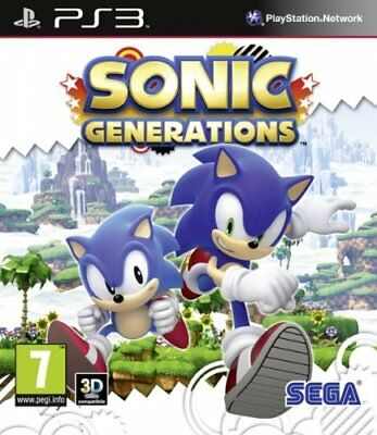 SONIC GENERATIONS Kids Game for PS3 Sony PlayStation 3 Fast Post UK