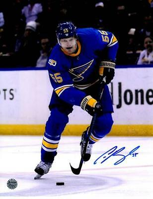 Colton Parayko St Louis Blues NHL Autographed 8x10 Winter Classic Jersey  Skating 9548a6449