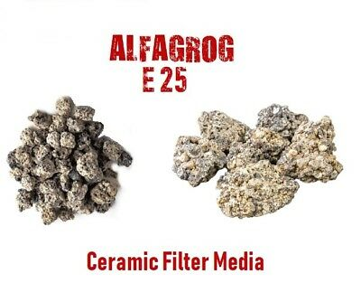 Alfagrog E25 Ceramic Filter Media Biorb Aquarium Koi Fish Tank Pond Filter