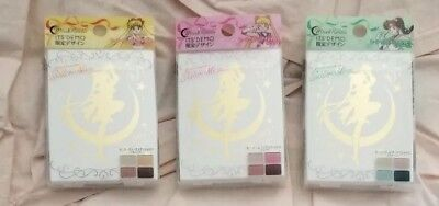 [CREER BEAUTE] Miracle Romance SAILOR MOON 3 Eyeshadow Quad Palette Set