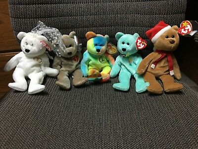2b663f3bdd4 BEANIE BABIES LOT Of 38 -  250.00