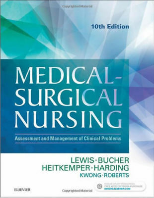 Medical Surgical Nursing 10th Edition Lewis Test Bank (PDF/EB00K)