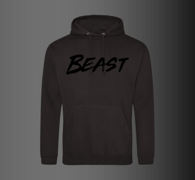 Mr Beast Hoody Youtuber Beast Hoodie Pullover Kids Adults UNISEX Black