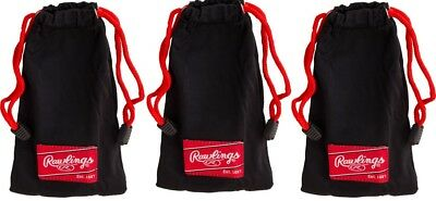 3 PACK Rawlings Micro-Fiber Cases for Sunglasses