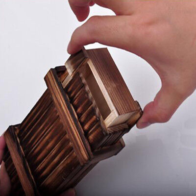 Wooden Japanese Trick Box Square Puzzle Magic Cube,Christmas Free Shipping Gift
