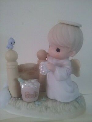 """Precious Moments """"I'M GONNA LET IT SHINE"""" 1998 Chapel Exclusive Signed by Sam"""