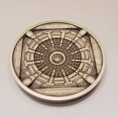 "SOLD OUT 2015 COOK ISLANDS ""TEMPLE OF HEAVEN"" 20 Dollar 3.2 Oz OF PURE SILVER!"