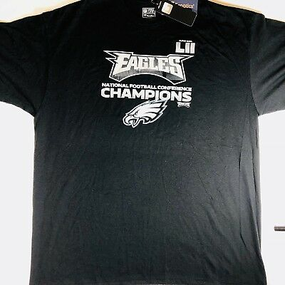 Philadelphia Eagles NFC Champions NFL Pro Line Fanatics T-Shirt Men s Sz 2- XL 344532995
