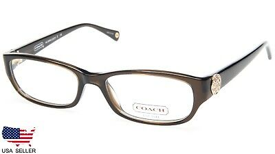 6872057469 COACH HC 6008 Cadyn 5030 DARK OLIVE EYEGLASSES STORE DISPLAY MODEL 53-17-135