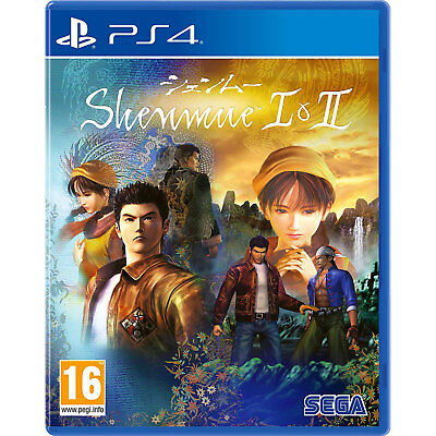 Shenmue I & II (PS4) Game | Brand New & Sealed | + Fast & Free Delivery !