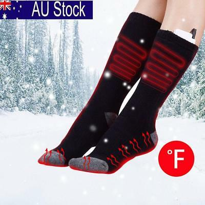 Electric Rechargeable Battery Heated Socks Winter Feet Warmer Skiing Adult Socks