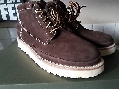 5fa1c7c8dc3 37 NEW UGG Men's Campfire Nubuck Suede Trail Tan Boots Shoes Size 10 ...