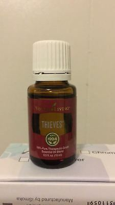 SALE OFF! Young Living Essential Oil Thieves 15 ml Aromatherapy - Free Shipping!