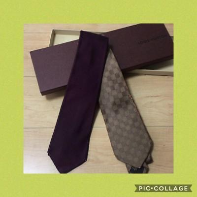 f0e68b43f3a4 Louis Vuitton Necktie Set for Two Today Only Men's Accessories Tie Japan F/S
