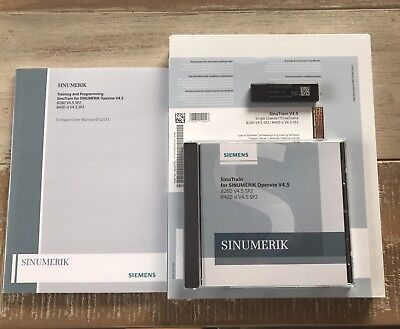 Siemens Sinumerik SinuTrain V4.5 SP2 Floatinglizenz