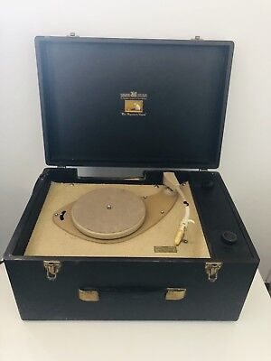 His Master,s Voice Turntable For Parts Or Repair