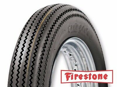 Firestone TUBE TYRE Deluxe Champion 19 18 16 inch Replica Vintage Tread type