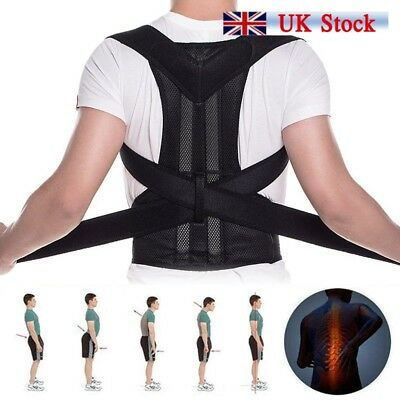 Adjustable Posture Corrector Corset Back Brace Support Shoulder Straight Hold