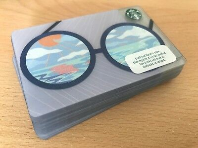 A LOT of Starbucks Card UK New Summer 2018 Issue Summer Glasses 18 cards!!!!