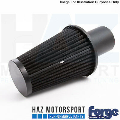 Forge Carbon Fibre Intake Induction Kit Filter Only Audi S3 8V VW Golf Mk7 R/GTI