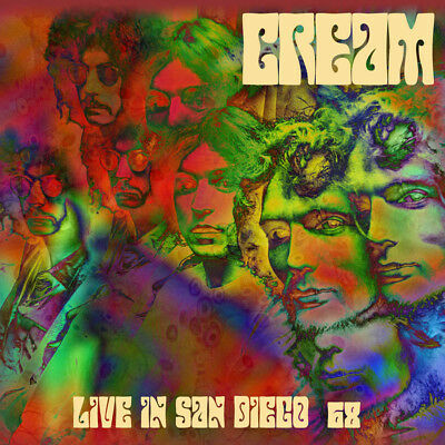 CREAM - Live In San Diego 68. New CD + Sealed. **NEW**