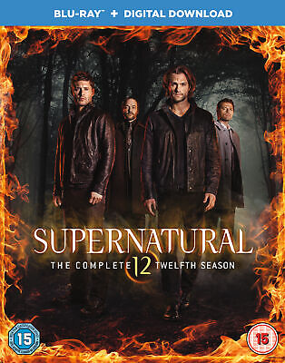 Supernatural: Season 12 (Blu-ray) Jared Padalecki, Jensen Ackles, Misha Collins