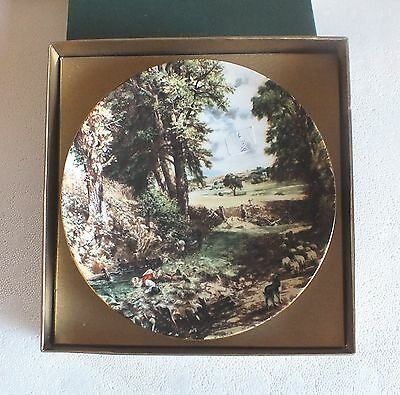 """Crown Staffordshire Collectors plate John Constable """" The Cornfield """""""