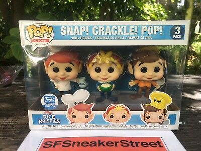 Funko Pop! Vinyl Ad Icons Cereal Rice Krisipies Snap Crackle Pop *CONFIRMED*