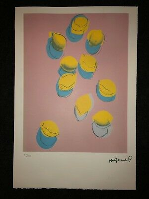 Andy Warhol Litografia 57 x 38 Arches France Timbri Gallerie d' Arte