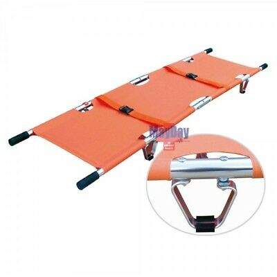 Folding Stretcher | 208 x 55 x 13 Cms | Emergency | Ambulance 191-Mayday
