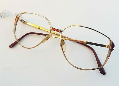 Roccobarocco vintage eye glasses frame NOS occhiali lunette brille Ysl versace