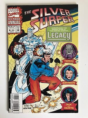 Silver Surfer Vol. 2 Annual #6 1st Legacy Genis-Vell Captain Marvel Comics 1993