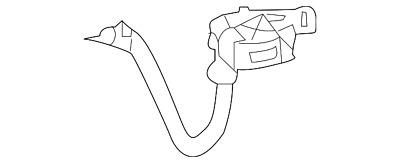 Genuine Mercedes-Benz Cable Harness 204-540-87-05