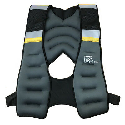 Fxr Sports Weighted Vest 5 8 10Kg Weighted Vest Running Gym Fitness Crossfit