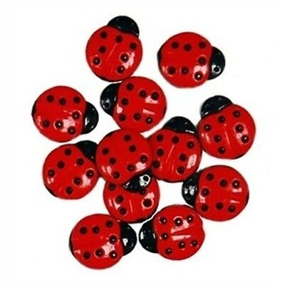 DRESS IT UP Buttons Cute As A Bug 5835 Ladybugs Ladybirds Bugs