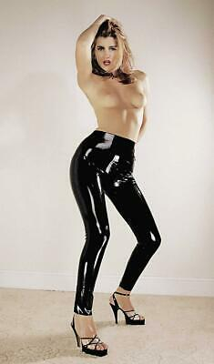 Leggings Latex Nero S