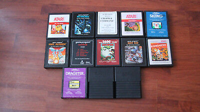 Job Lot Of Atari 2600 Game Cartridges.
