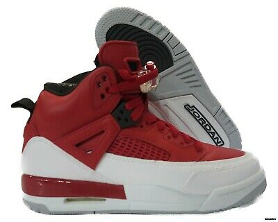 hot sale online 78cc3 7f2c0 317321-603 Air Jordan Spizike (Gym Red   White   Grey) Grade School