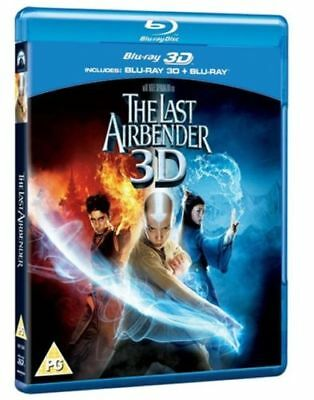 The Last Airbender (with 3D Version) Blu-ray New & Sealed 5051368228235