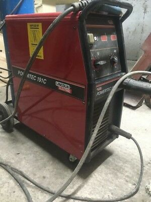 Lincoln Electric Powertec 191C Mig Welder - Package 230v