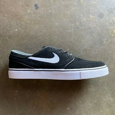 finest selection eb002 663f8 Nike Sb Zoom Stefan Janoski Og Black white-Gum Light Brown Size 6-