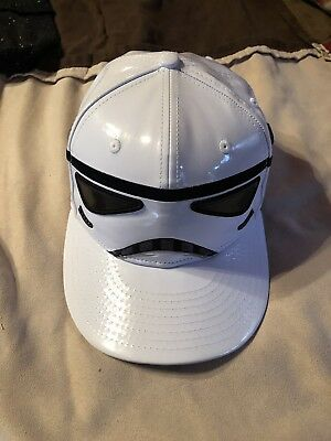 finest selection 3dd1f 48b41 STAR WARS Stormtrooper Cap NEW ERA 59FIFTY Hat Limited Edition Size 7 3 8  Used